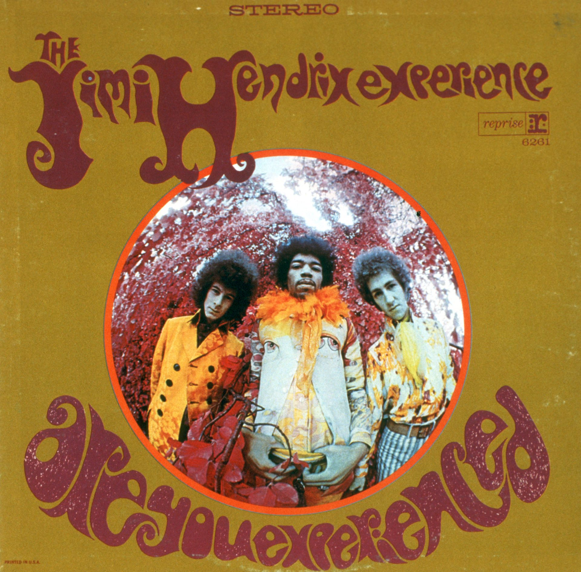 """Are You Experienced"" US Album Cover"