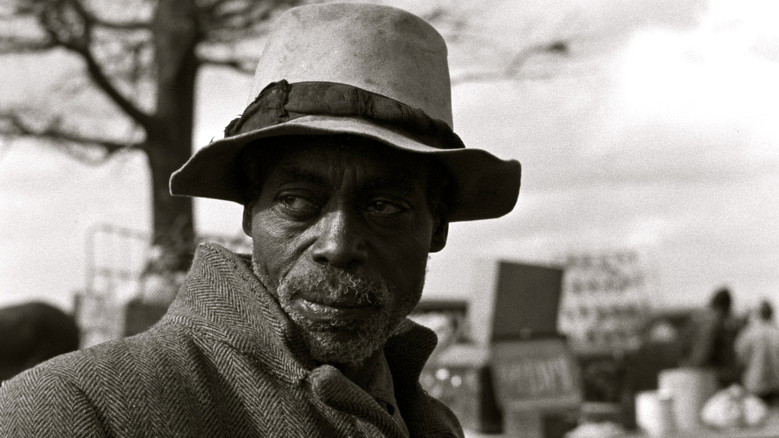 African American Evicted sharecropper, New Madrid County, Missouri