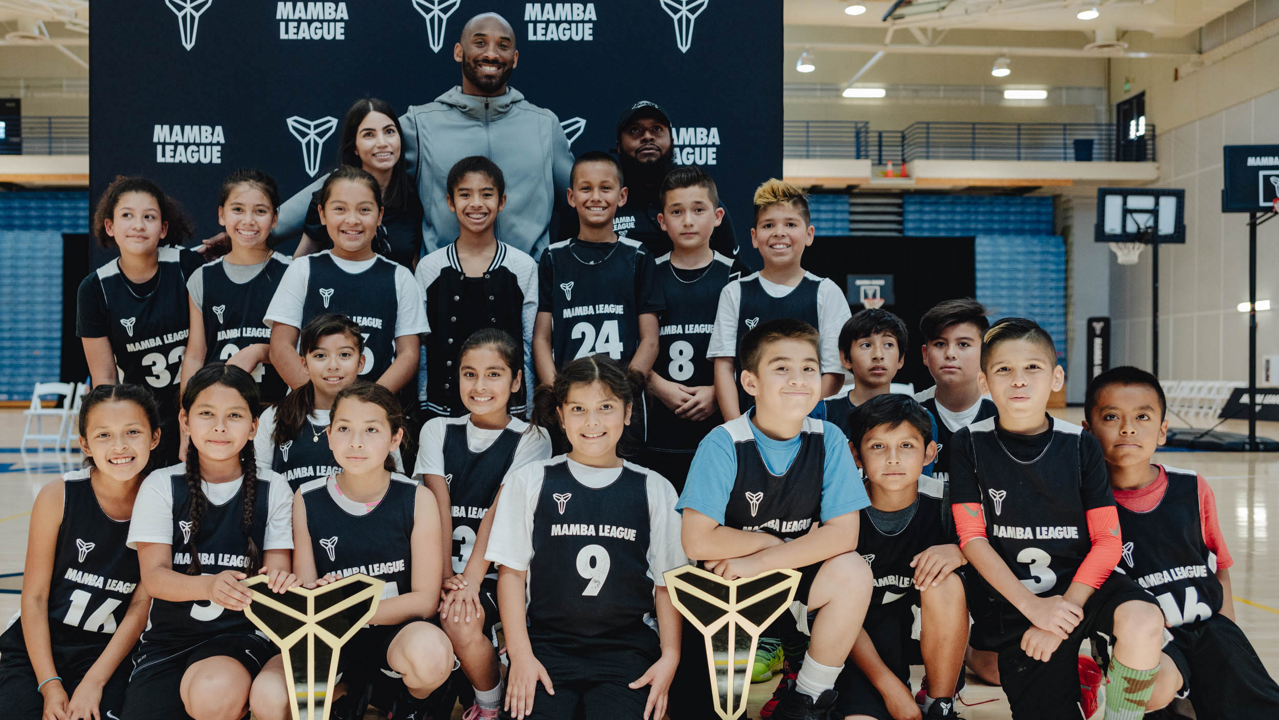 d32a819bc1a9 Kobe Bryant partners with Nike to create basketball program