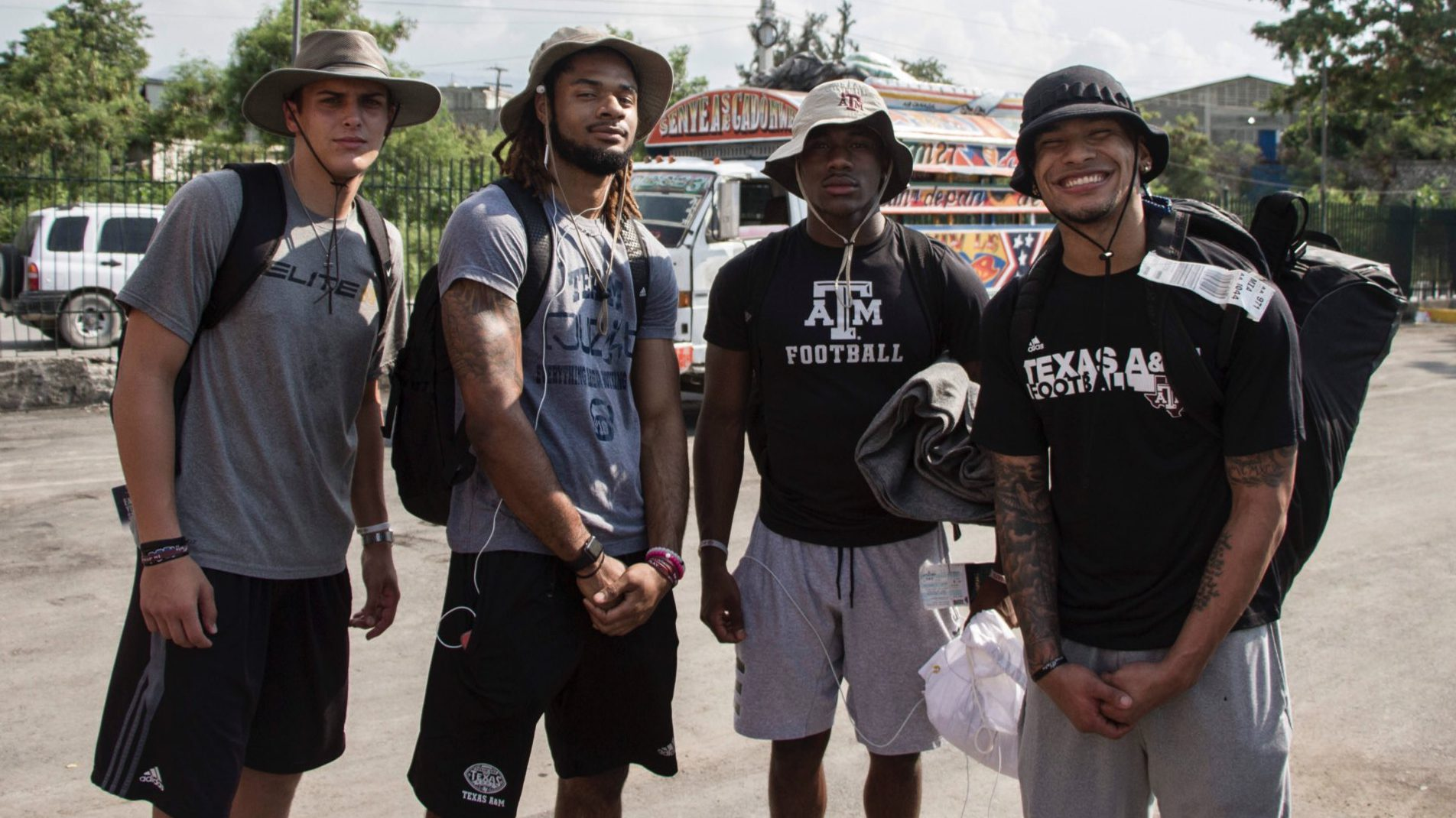 Texas A&M athletes learn life lessons on Mission of Hope to
