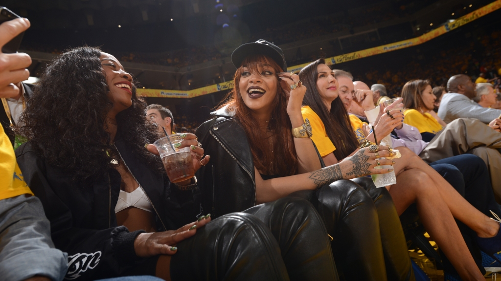9dbadd97d03b NBA glamour is all about courtside