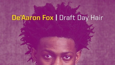 De'Aaron Fox hair thumbnail