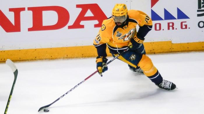 NHL: JUN 03 Stanley Cup Finals Game 3   Penguins at Predators
