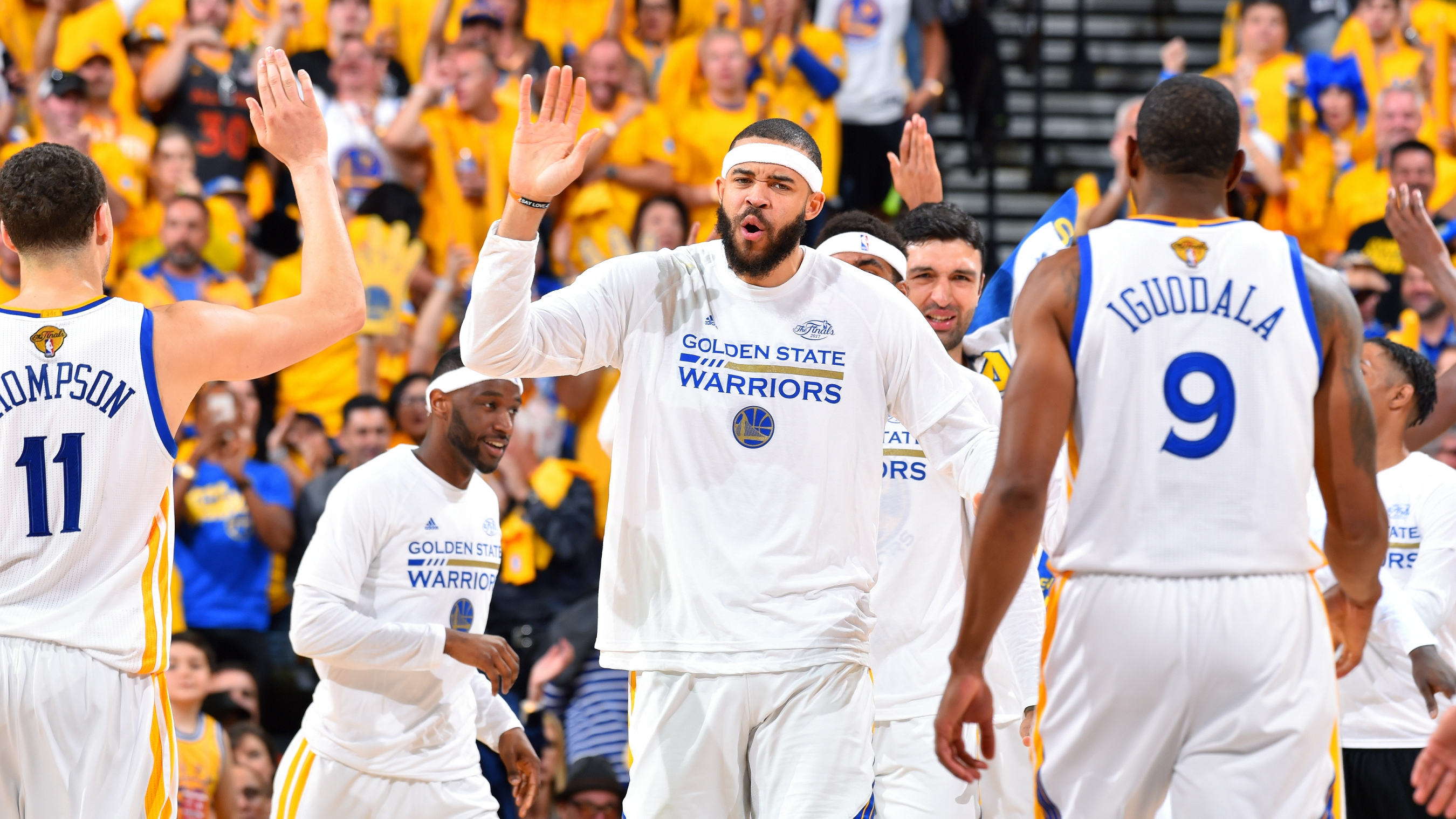 3160da52b Warriors  JaVale McGee has added incentive to close out Finals