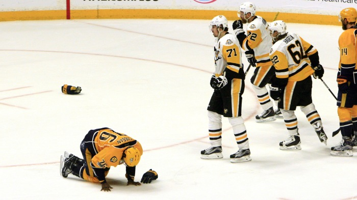 NHL: JUN 05 Stanley Cup Finals Game 4 –  Penguins at Predators