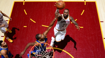 2017 NBA Finals – Game Three