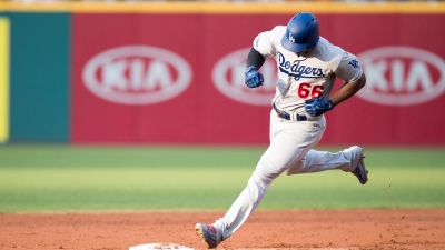 MLB: JUN 13 Dodgers at Indians