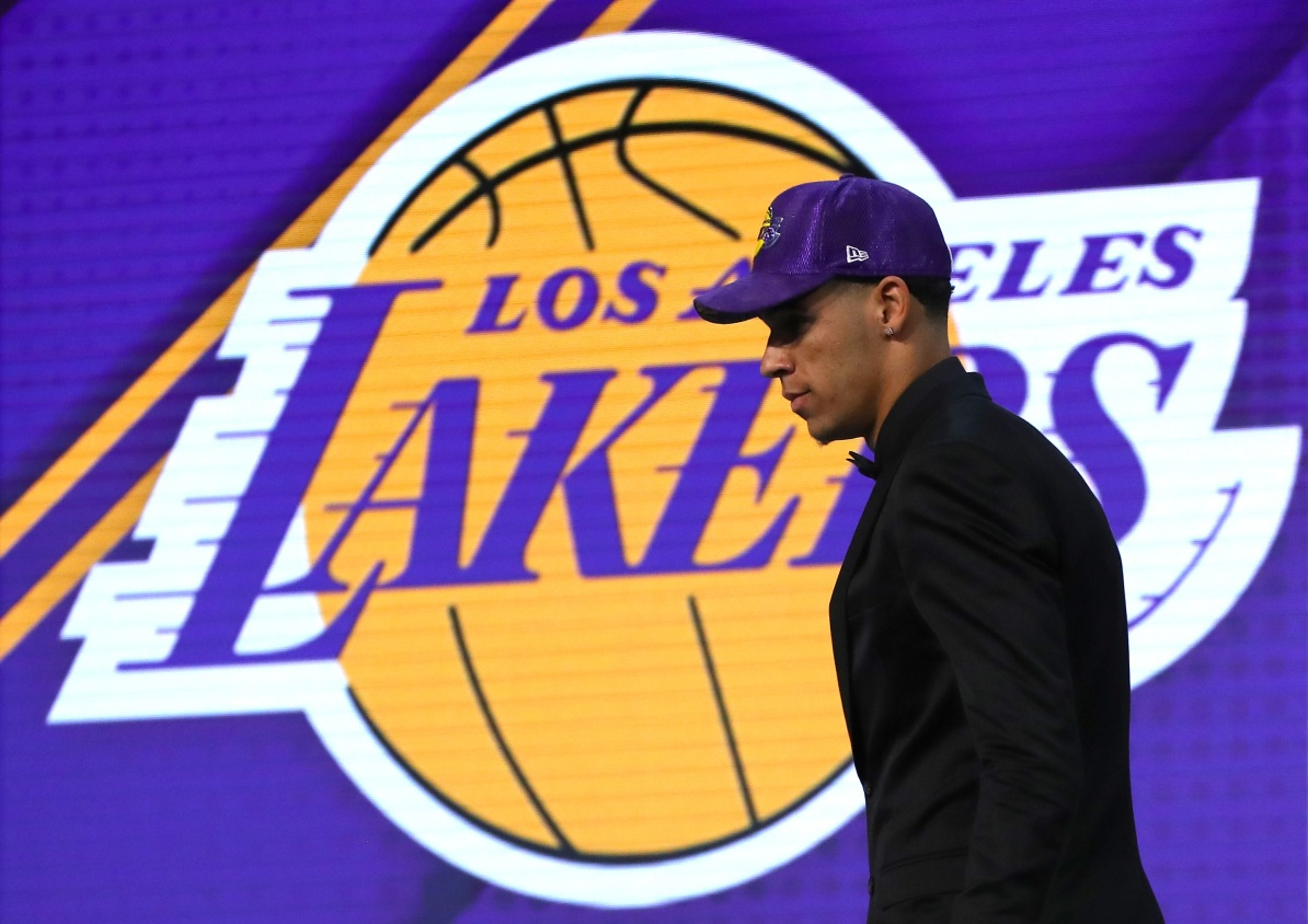 The night Lonzo Ball became a Los Angeles Laker 5c677d6ca