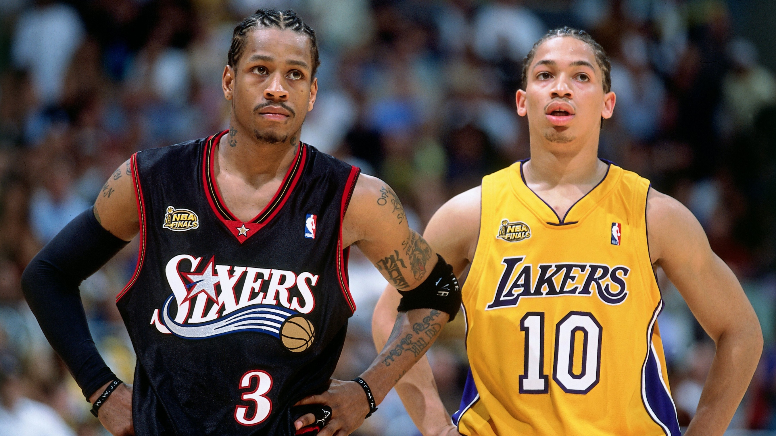 a358806d8bd2 On this day in NBA Finals history  Allen Iverson steps over Tyronn Lue