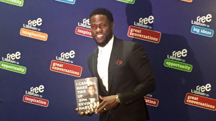 Kevin Hart Book Tour