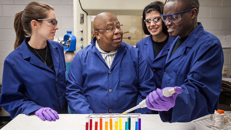 LSU7428-Dr-Warner-students_Foundation