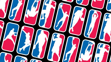 Collage of prospective NBA logos