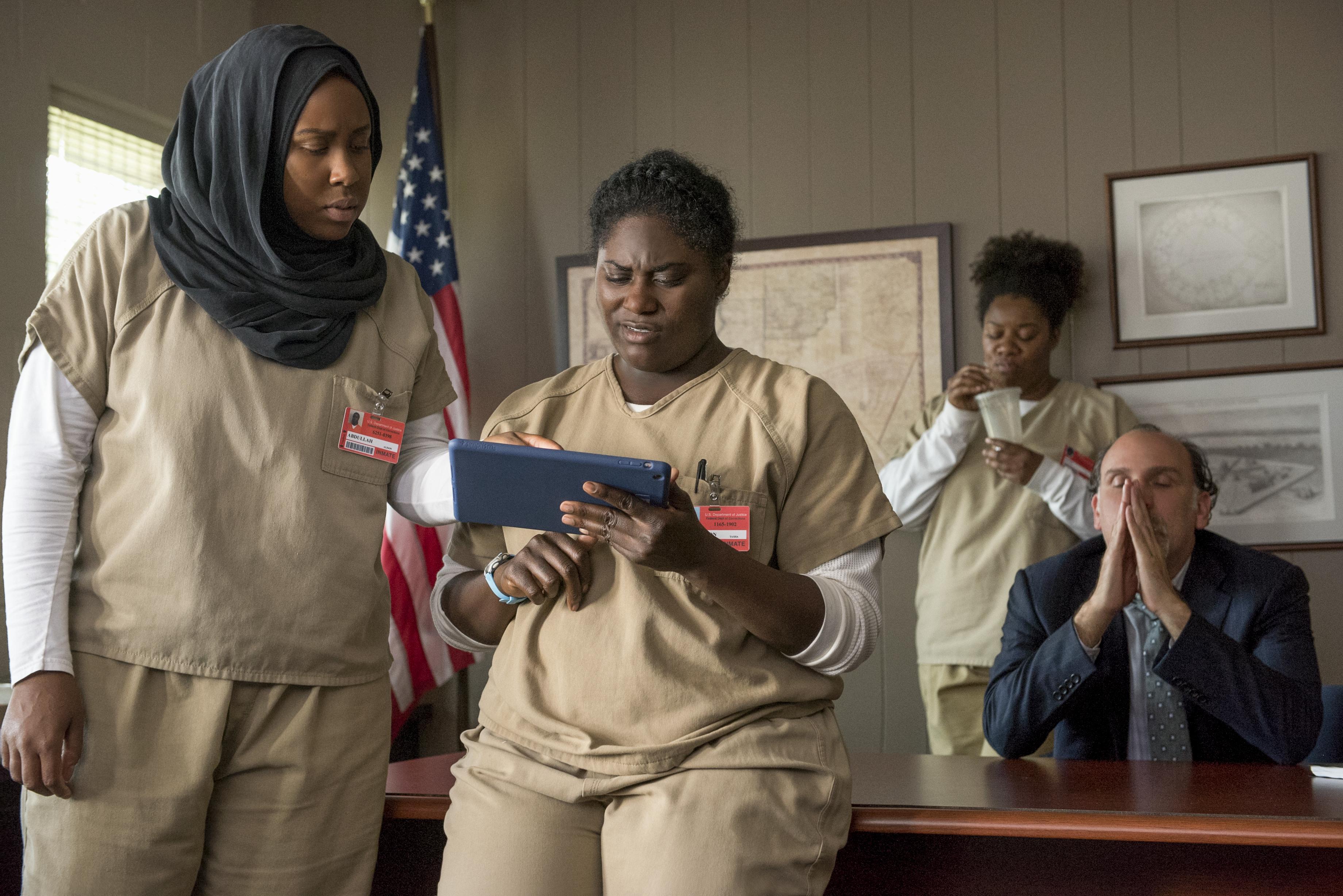 In 'Orange is the New Black' season five, the show takes its darkest