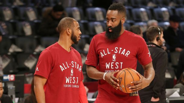 c07d5e0477eb Rhoden Fellows podcast  What s next for Chris Paul and James Harden in  Houston