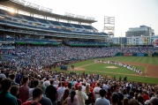 Congressional Baseball Game for Charity at the National Park June 15, 2017 in Washington, DC. The game goes on as scheduled after House Majority Whip Rep. Steve Scalise (R-LA) was shot during a practice the day before.