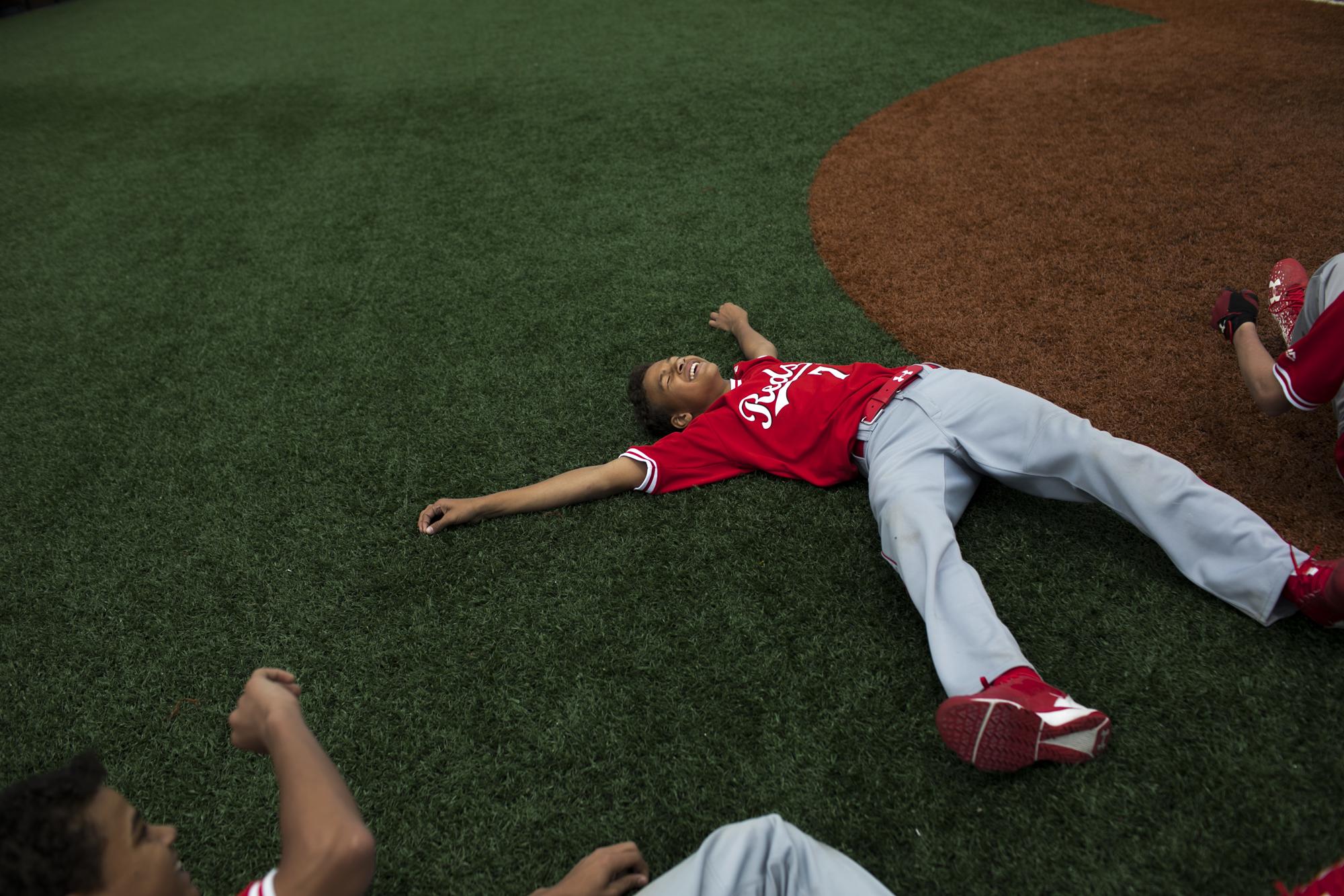 Innocent Yo Teen Playing Baseball Outdoors - Instytut Neofilologii - Akademia Pomorska -6500