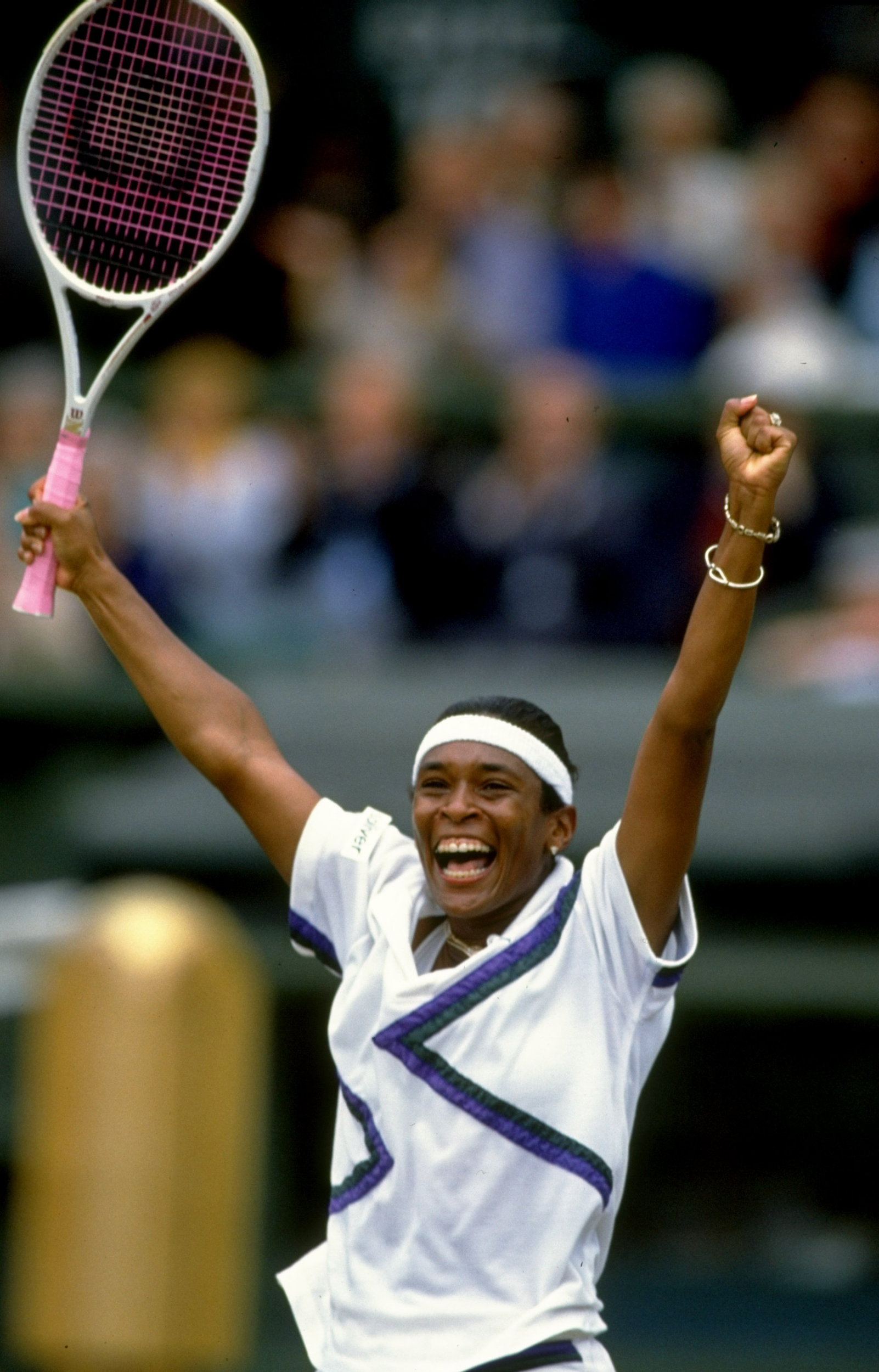 The day Zina Garrison dethroned Steffi Graf