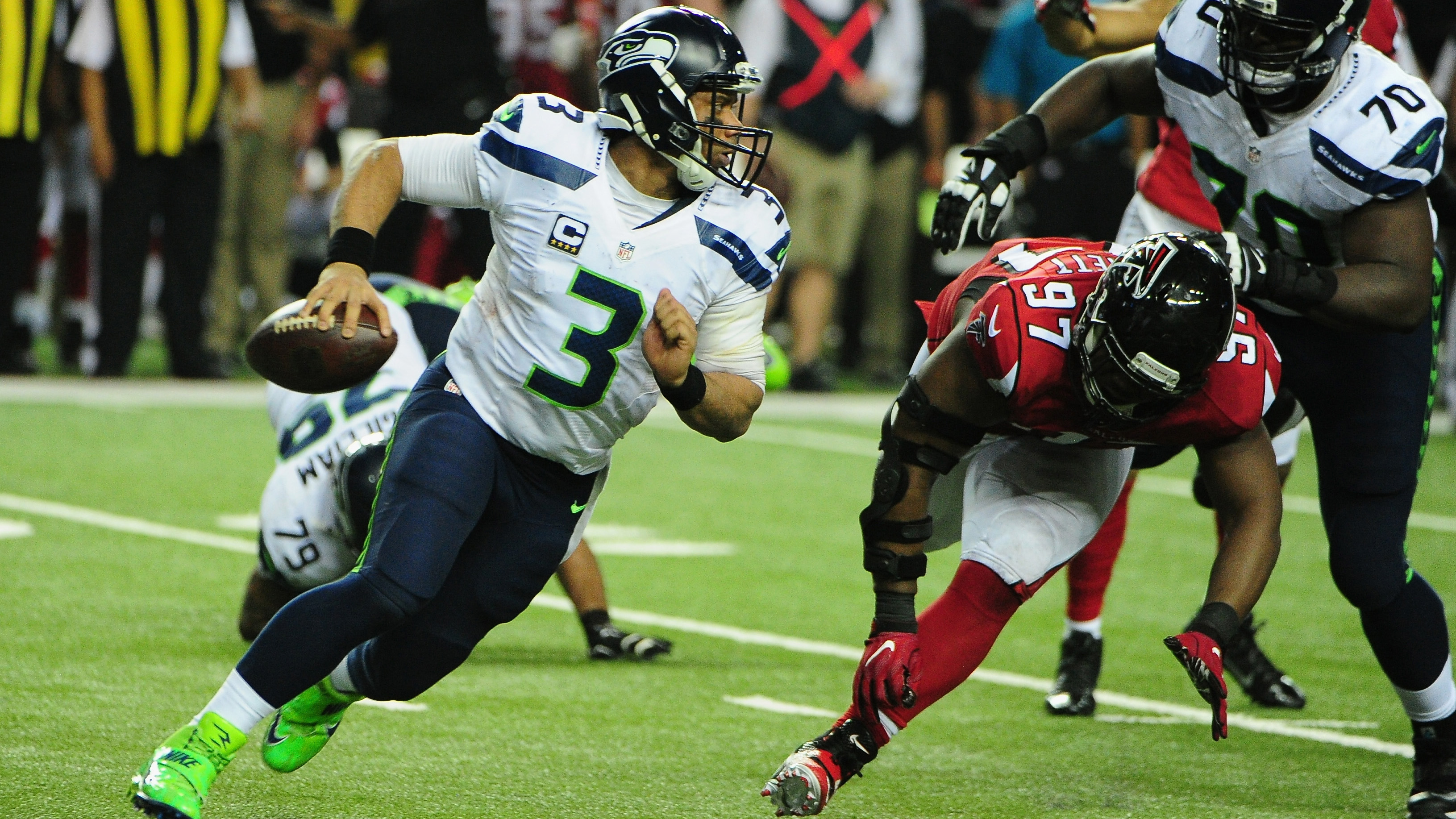 Divisional Round – Seattle Seahawks v Atlanta Falcons