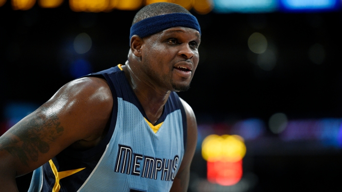 huge discount ba012 f490e Zach Randolph takes Grizzlies' soul with him to Sacramento