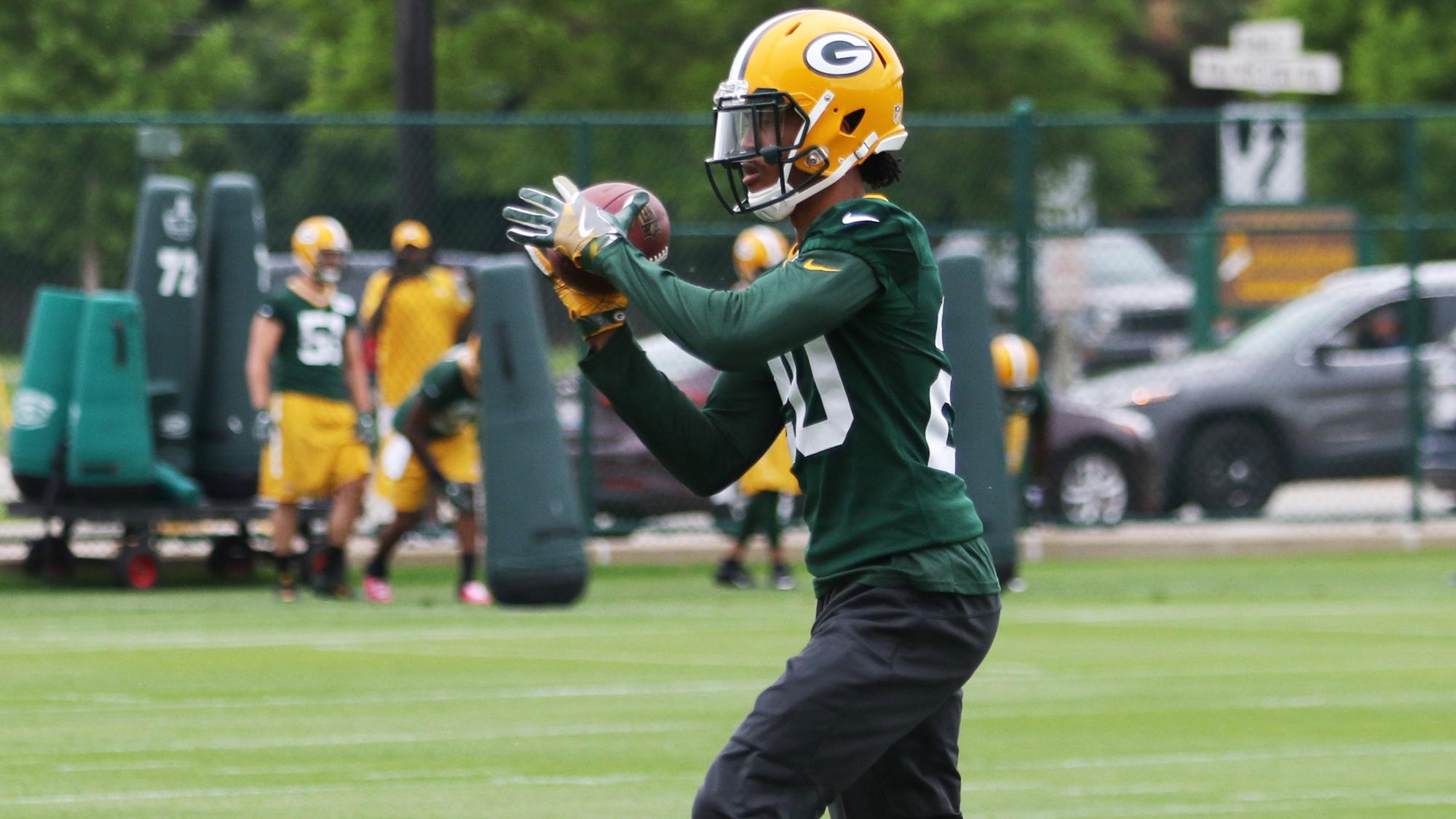 NFL: JUN 13 Packers Minicamp