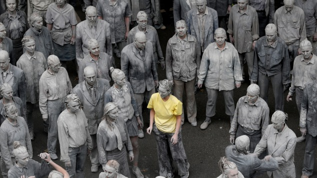 Performance Artists Hold Zombie G20 Protest