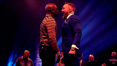 Floyd Mayweather Jr. v Conor McGregor World Press Tour – London