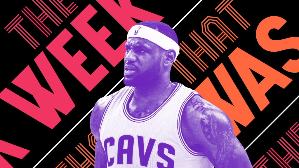 7538577fc97e LeBron James wants to beat up Kyrie Irving and other news of the week