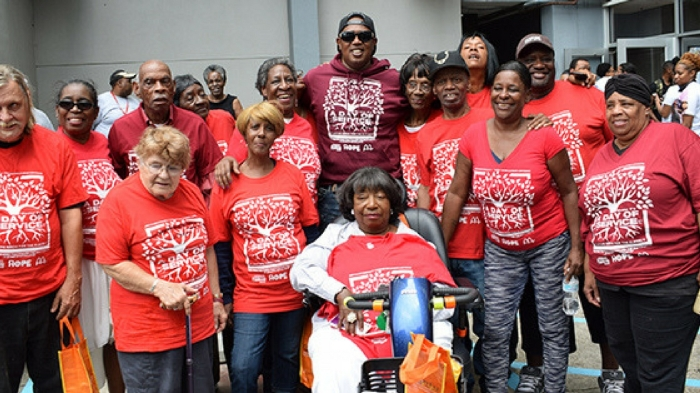 Elderly people in New Orleans getting a lift from Master P 08c9eac7c