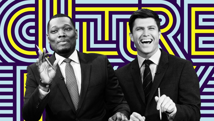 1e7226bb2129  Saturday Night Live s  Colin Jost and Michael Che aren t mascots for the  resistance