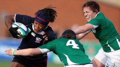Ireland v USA-5th Place SF-IRB Womens Rugby World Cup