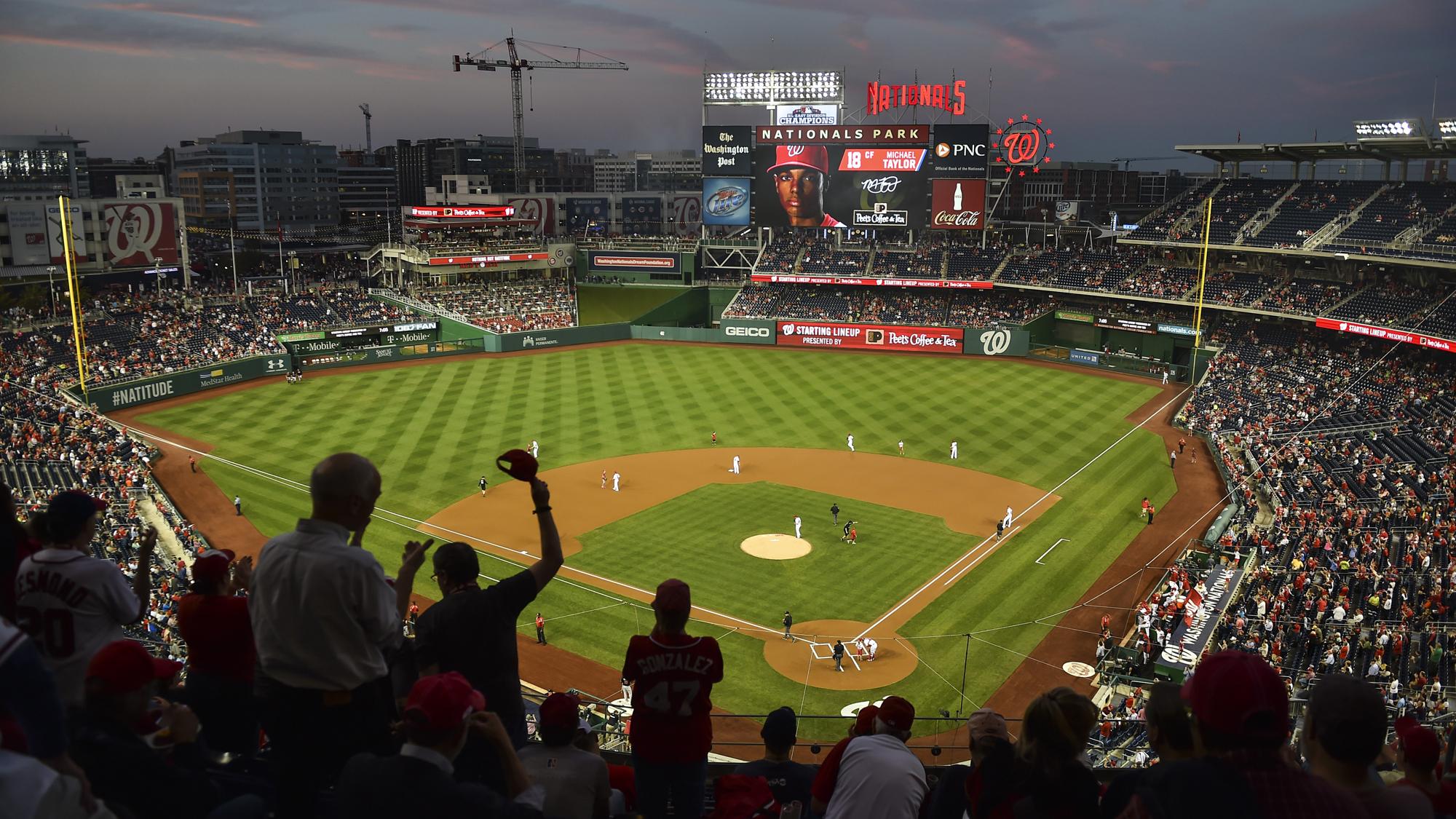 MLB – Miami Marlins at Washington Nationals