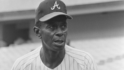 Portrait of Pitcher Satchel Paige