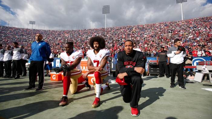 83183d4356e5 How Colin Kaepernick became a cause for activists