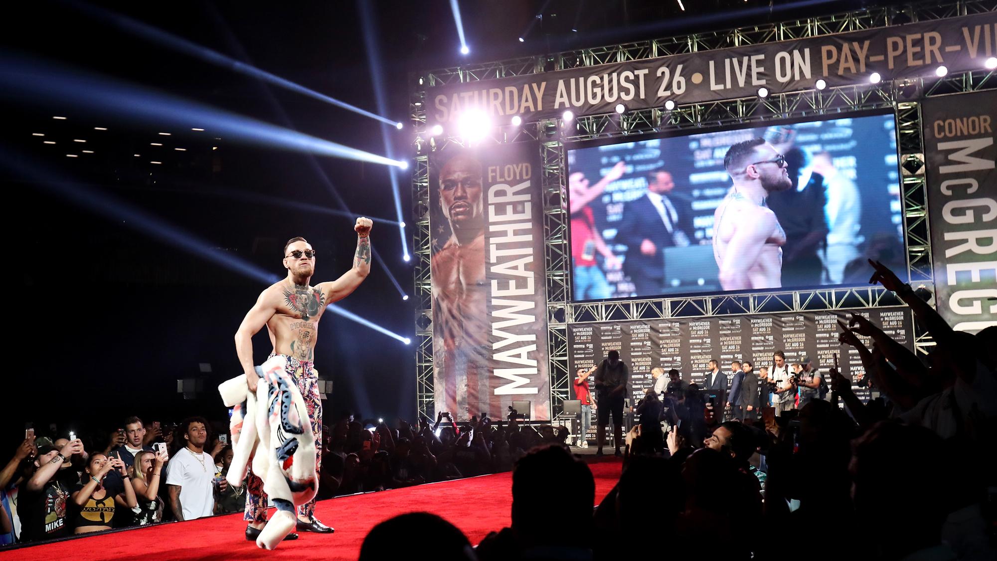 Floyd Mayweather Jr. v Conor McGregor World Press Tour – New York