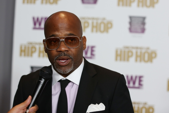 "Cast member Damon Dash attends WE tv's celebration of ""Growing Up Hip Hop"" Season 3 at the Smithsonian Institute National Museum of African American History and Culture on July 20, 2017 in Washington, DC."