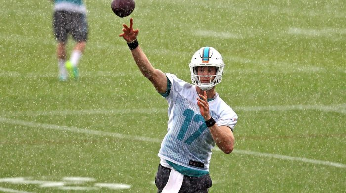 Ryan Tannehill on leading the Dolphins: 'It's my offense and my team'