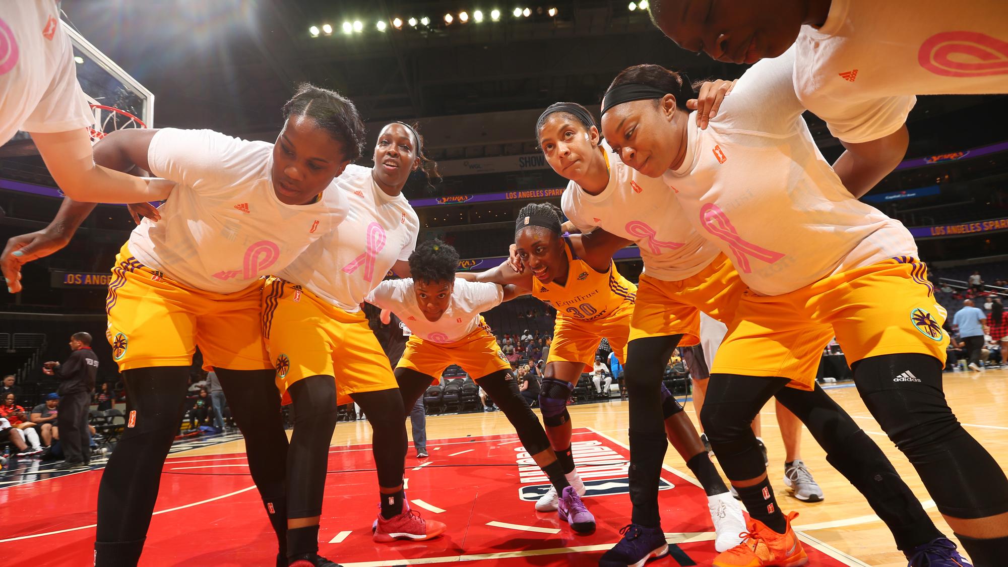 Los Angeles Sparks v Washington Mystics