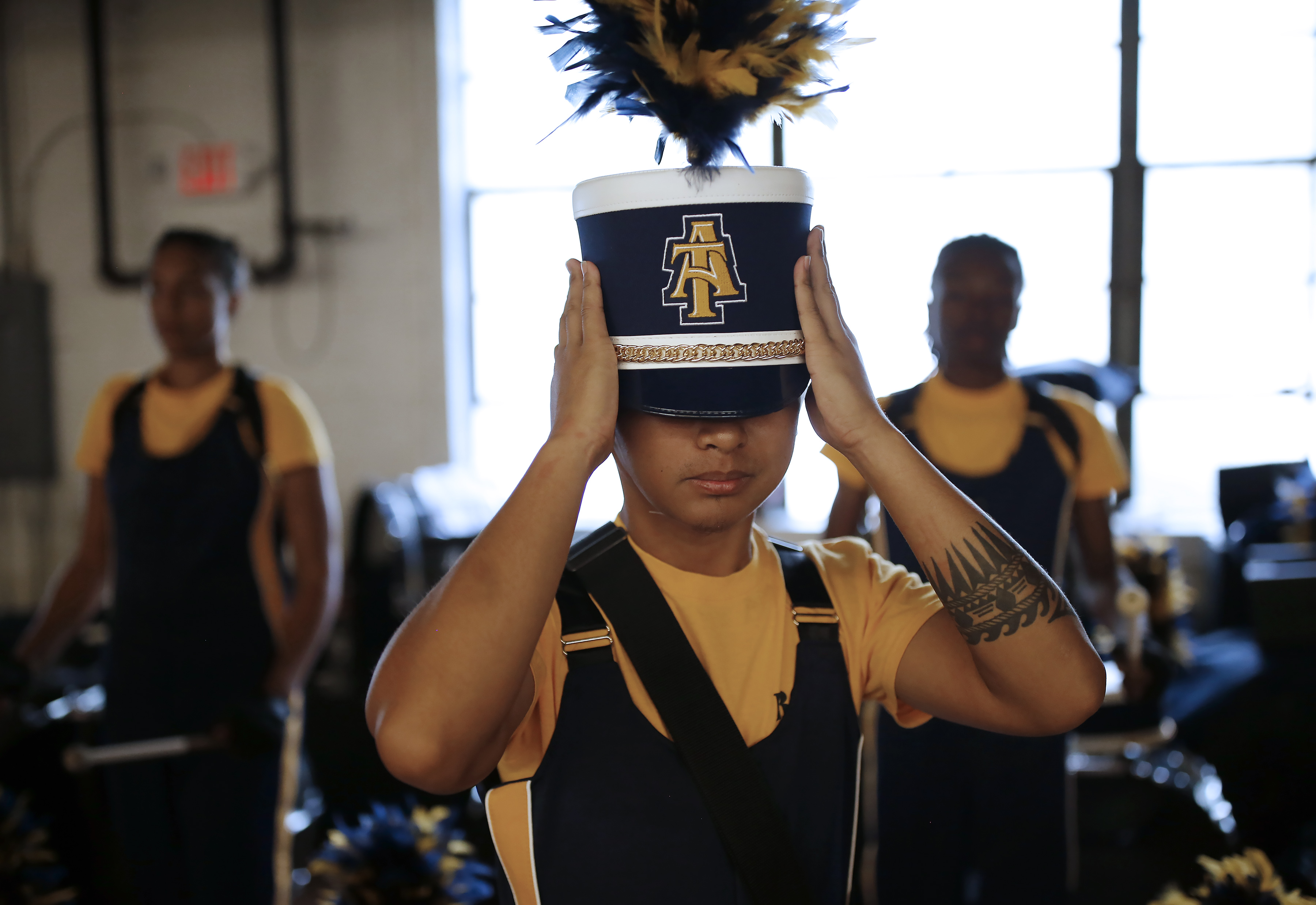 The 5th Quarter: North Carolina A&T's Blue and Gold Marching Machine