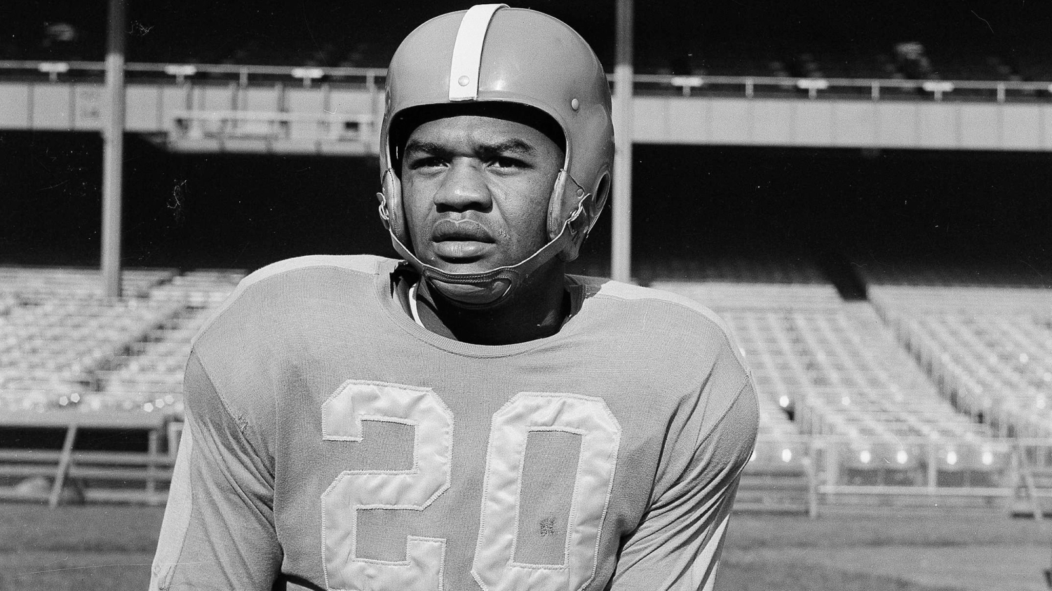George Taliaferro played quarterback and a whole lot more ...
