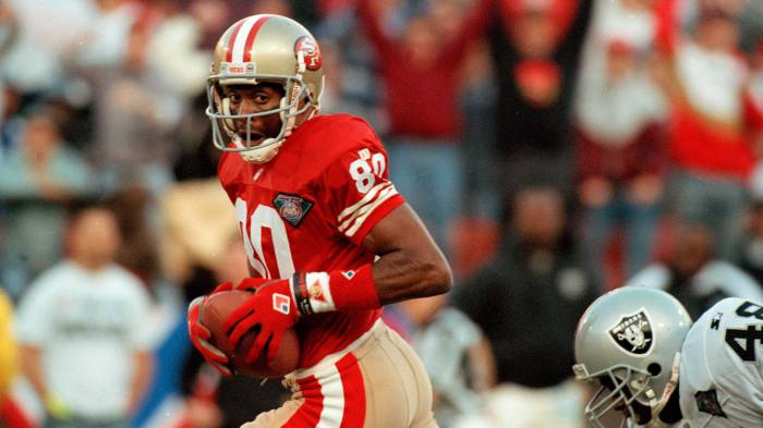 8bb1b1c59 The day Jerry Rice surpassed the NFL record for touchdowns