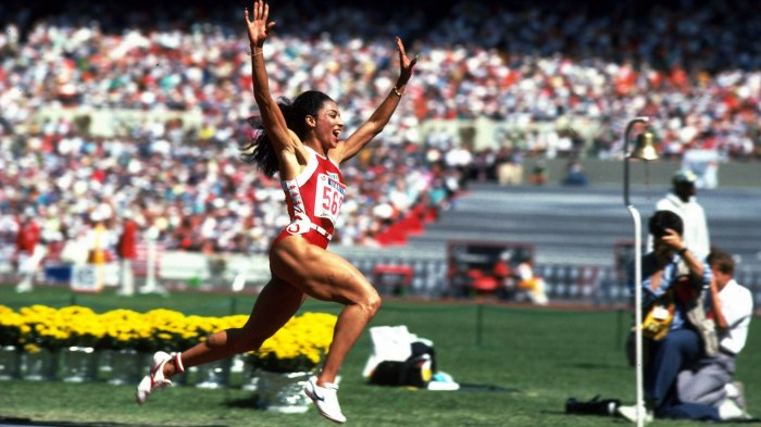 Florence Griffith Joyner of the USA
