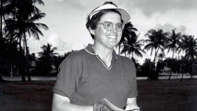 Golfer Fay Crocker