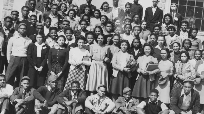 College Students At Morgan State University Baltimore Maryland September 19 1940 Afro American Newspapers Gado Getty Images