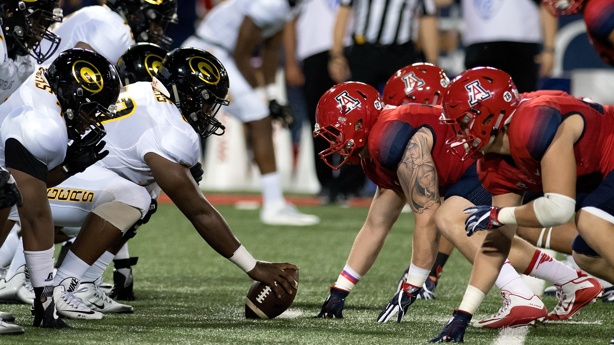 NCAA FOOTBALL: SEP 10 Grambling State at Arizona