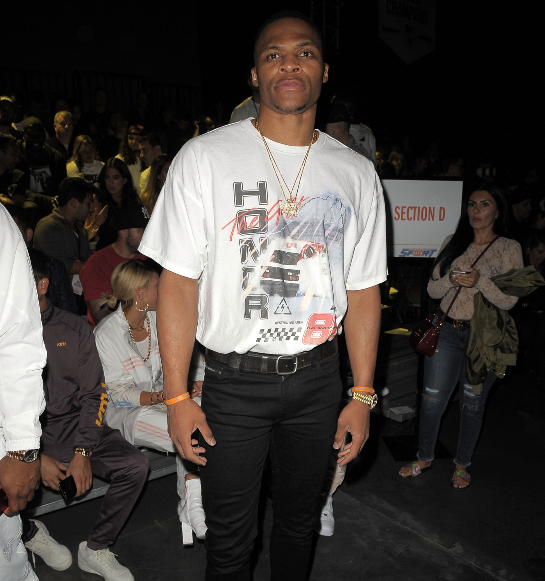 5f7c80a488e4 It's New York Fashion Week, and Russell Westbrook takes Manhattan