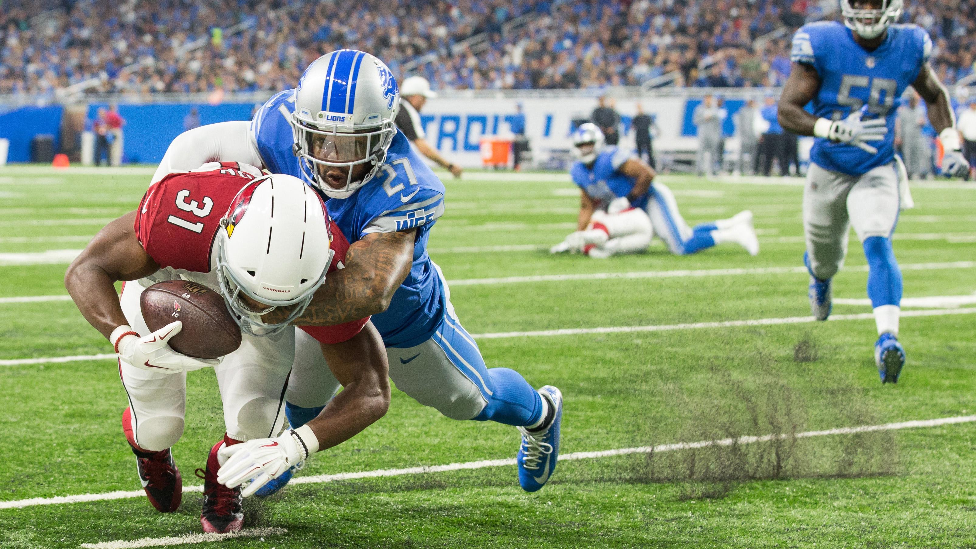 NFL: SEP 10 Cardinals at Lions