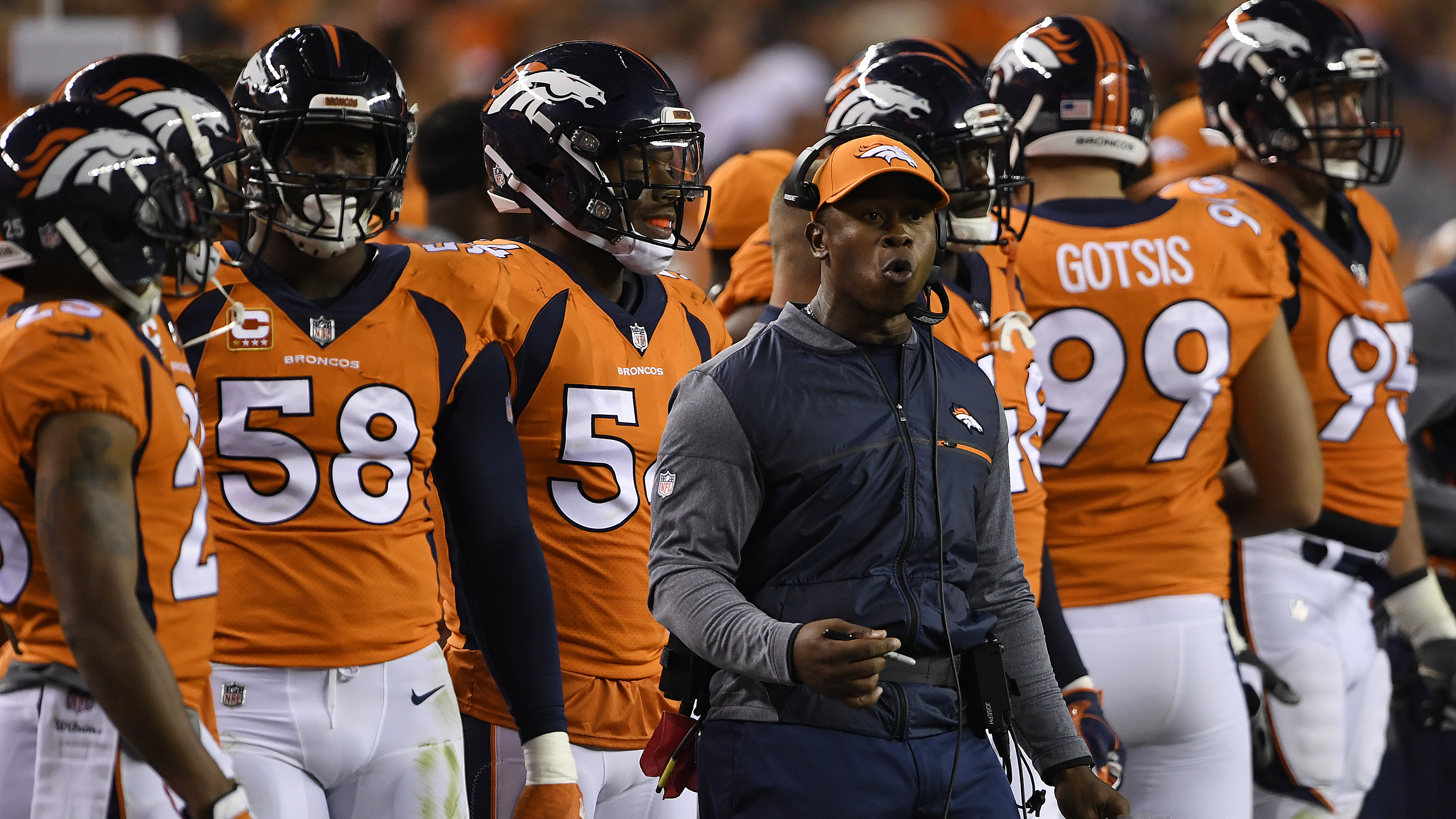 Denver Broncos vs. against the Los Angeles Chargers, NFL Week 1