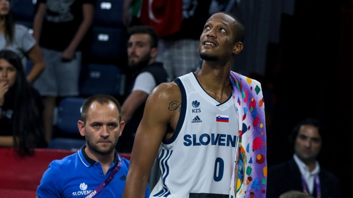 1d823d7ce8b Anthony Randolph talks racist taunts after Porzingis incident and winning a  championship with Slovenia