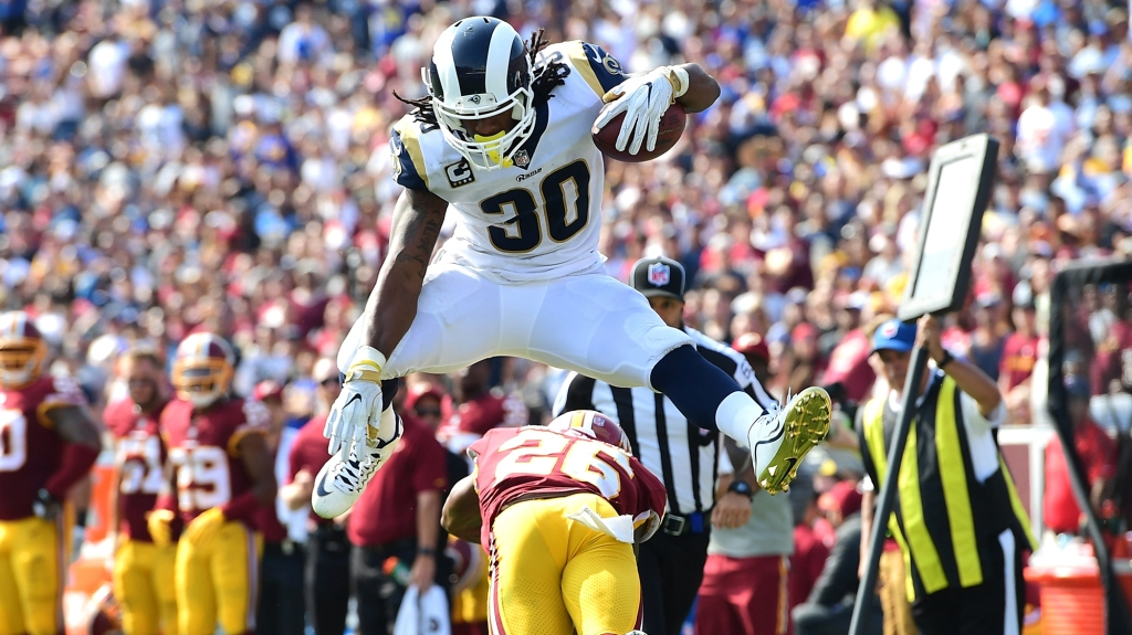 394a93a13 Rams' Todd Gurley still has some Todd Gurley moves