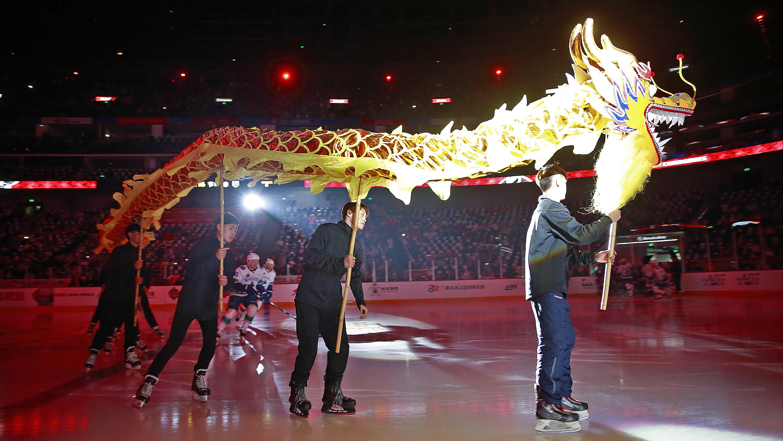2017 NHL China Games – Los Angeles Kings v Vancouver Canucks pre-season